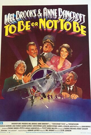 To Be Or Not To Be (1983) Main Poster