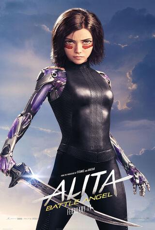 Alita: Battle Angel (2019) Main Poster