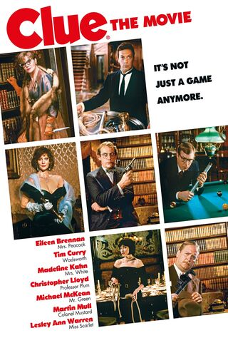 Clue (1985) Main Poster