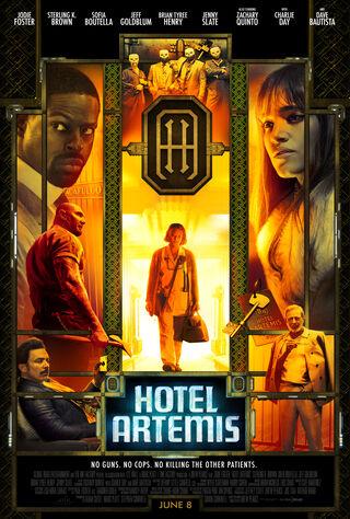 Hotel Artemis (2018) Main Poster