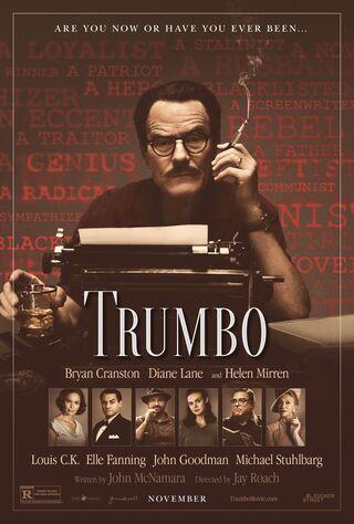 Trumbo (2015) Main Poster