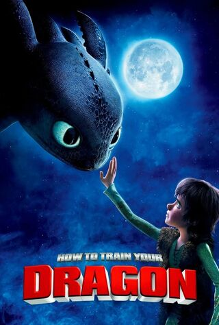 How to Train Your Dragon (2010) Main Poster