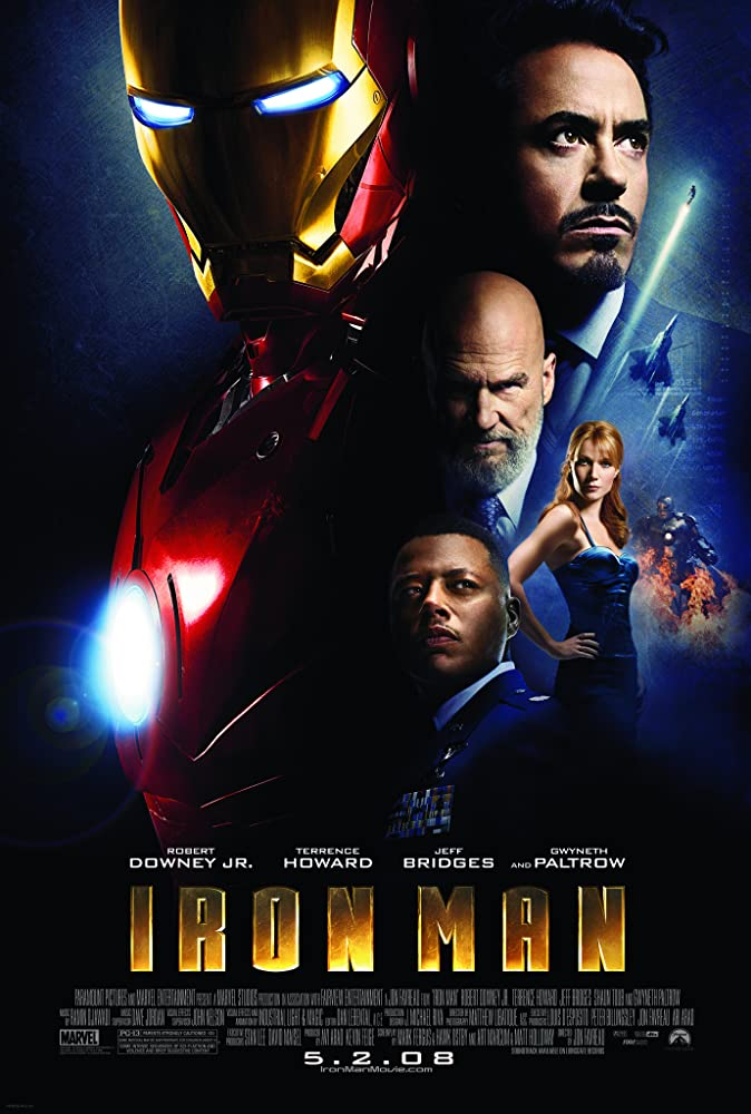 Iron Man (2008) Poster #1