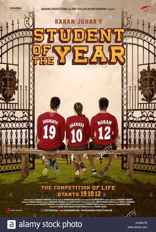 Student Of The Year (2012) Main Poster