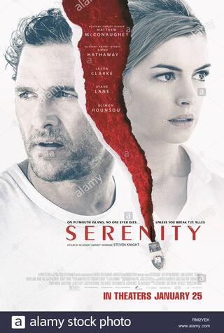 Serenity (2019) Main Poster