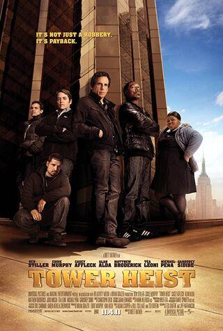 Tower Heist (2011) Main Poster
