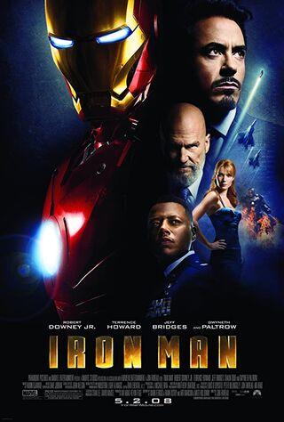Iron Man (2008) Main Poster