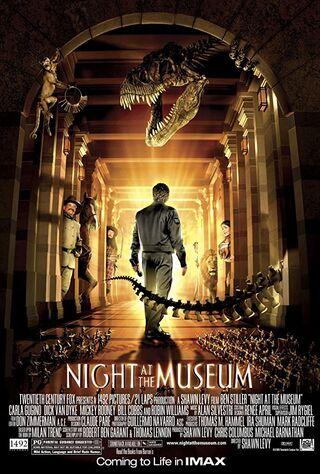 Night at the Museum (2006) Main Poster
