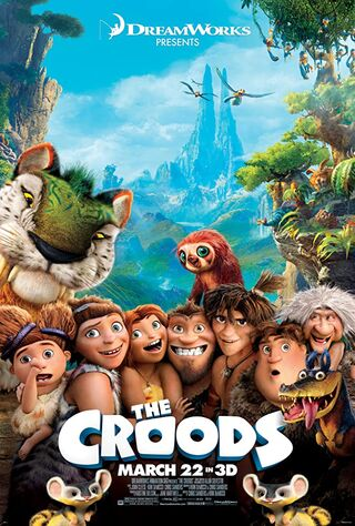 The Croods (2013) Main Poster