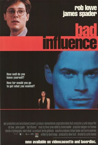 Bad Influence (1990) Main Poster