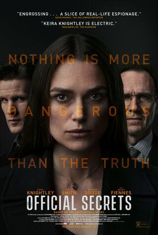 Official Secrets (2019) Main Poster