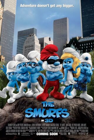 The Smurfs (2011) Main Poster