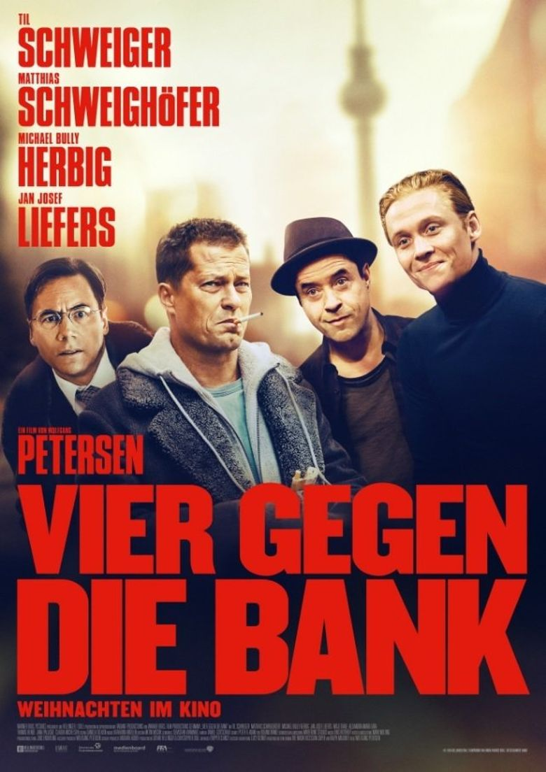 Four Against The Bank (2016) Main Poster