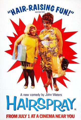 Hairspray (1988) Main Poster
