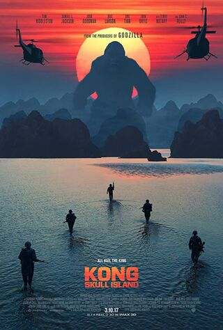 Kong: Skull Island (2017) Main Poster