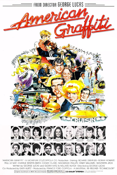 American Graffiti (1973) Main Poster