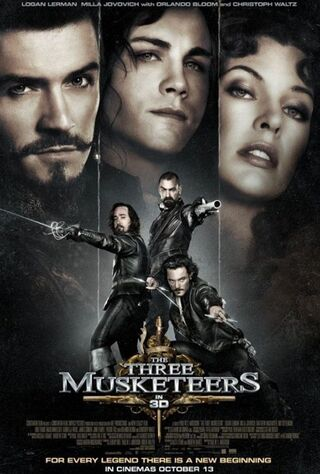 The Three Musketeers (2011) Main Poster