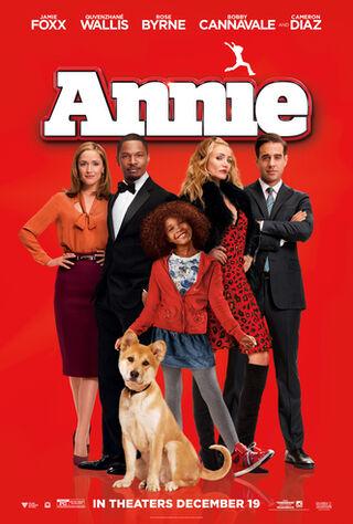 Annie (2014) Main Poster