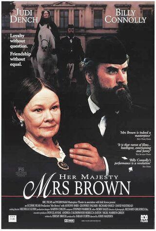Mrs. Brown (1997) Main Poster