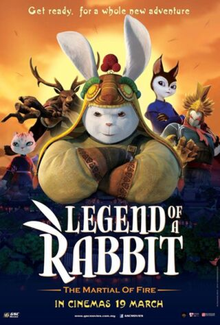 Legend Of A Rabbit: The Martial Of Fire (2018) Main Poster