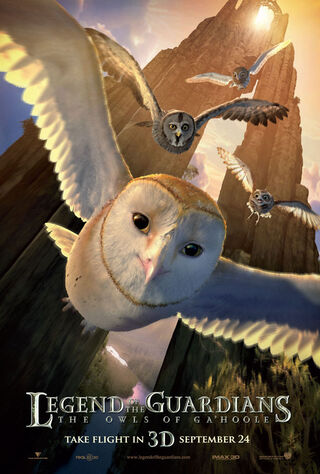 Legend Of The Guardians: The Owls Of Ga'Hoole (2010) Main Poster