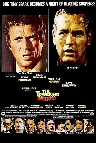 The Towering Inferno (1975) Main Poster
