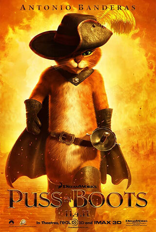 Puss in Boots (2011) Main Poster