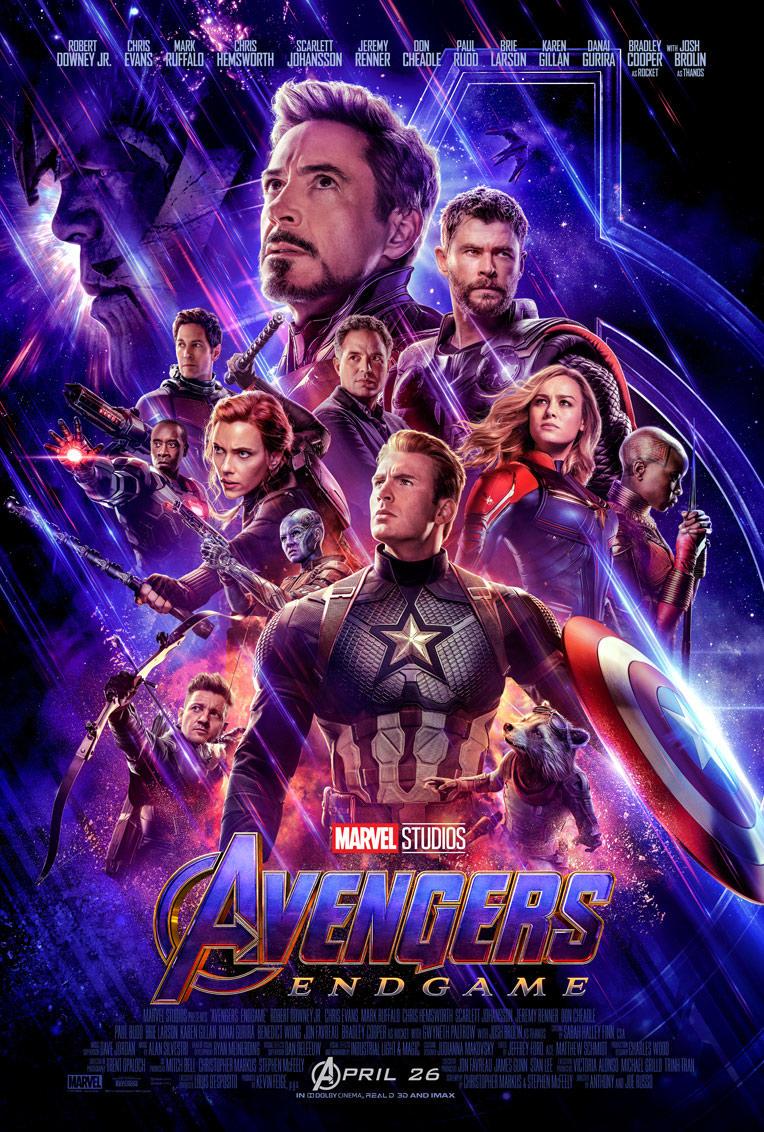 Avengers: Endgame (2019) Main Poster