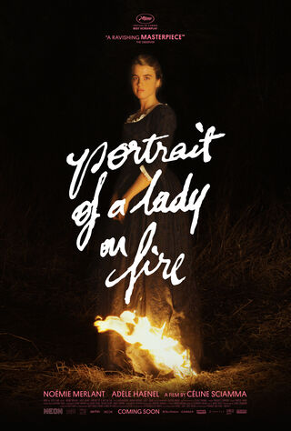 Portrait Of A Lady On Fire (2020) Main Poster
