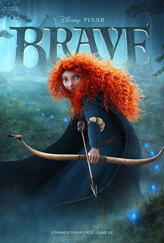 Brave (2012) Main Poster