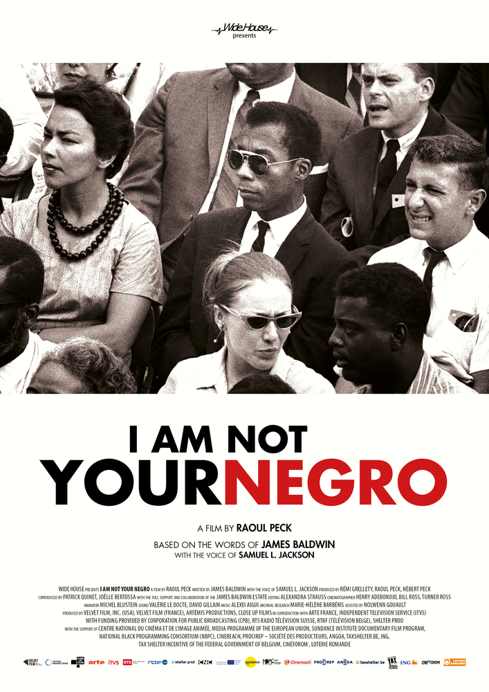 I Am Not Your Negro (2017) Main Poster