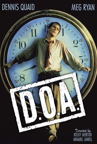 D.O.A. (1988) Main Poster