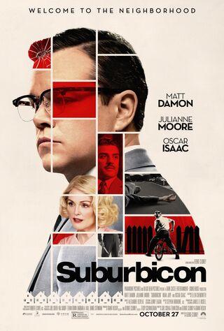 Suburbicon (2017) Main Poster