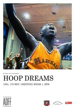 Hoop Dreams (1994) Main Poster