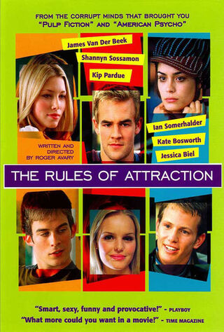 The Rules Of Attraction (2002) Main Poster