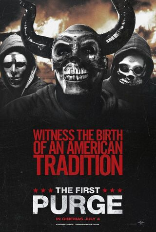 The First Purge (2018) Main Poster