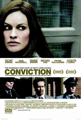 Conviction (2010) Main Poster