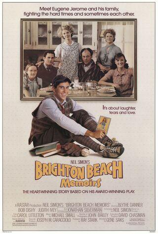 Brighton Beach Memoirs (1986) Main Poster