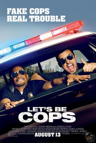 Let's Be Cops (2014) Main Poster