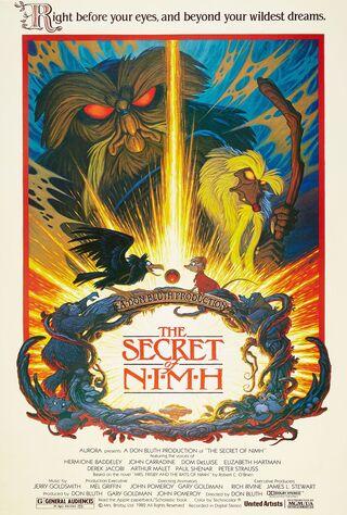 The Secret Of NIMH (1982) Main Poster