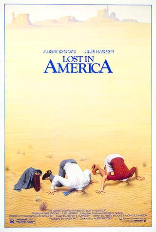 Lost In America (1985) Main Poster