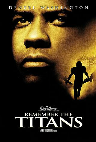Remember The Titans (2000) Main Poster