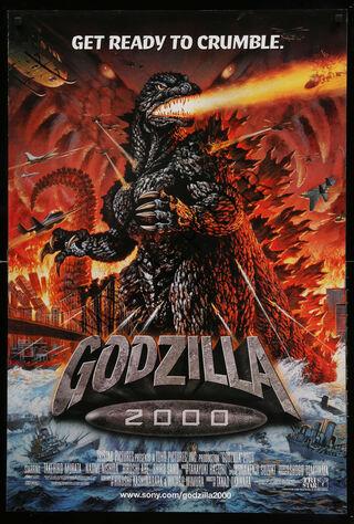 Godzilla 2000 (2000) Main Poster