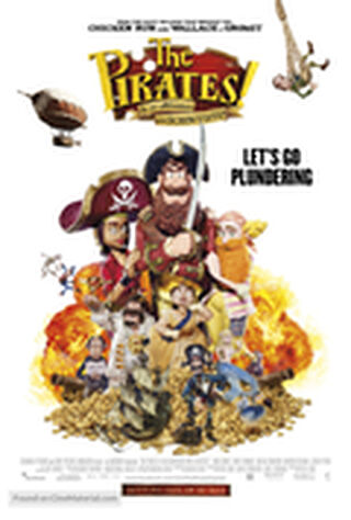 The Pirates! Band Of Misfits (2012) Main Poster