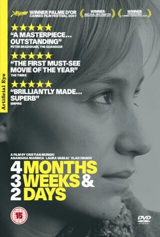 4 Months, 3 Weeks And 2 Days (2007) Main Poster