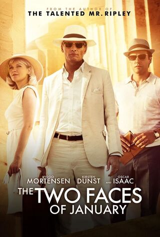 The Two Faces Of January (2014) Main Poster