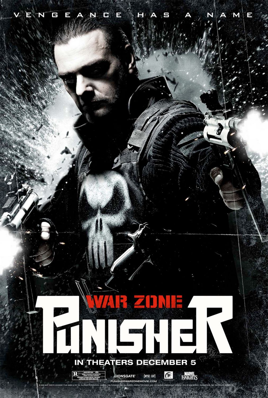Punisher: War Zone (2008) Main Poster