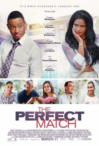 The Perfect Match (2016) Main Poster