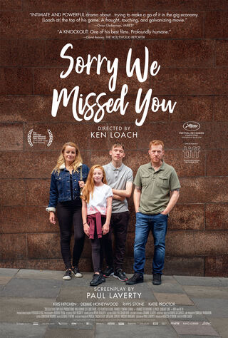 Sorry We Missed You (2020) Main Poster