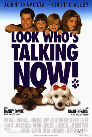 Look Who's Talking Now (1993) Main Poster